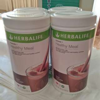 Herbalife Nutritional Shakes Formula 1 Powder Dutch Choco Flavor