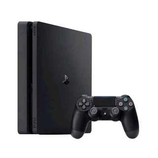 Sony PS 4 Slim Bundle 3 Games + PSN + 1 Stik Ori Bisa Kridit DP Rendah