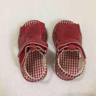 MC red sandal (preloved)