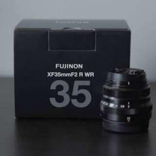 Fujifilm Fujinon XF 35mm F2 BARU Black New