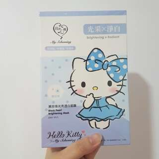 instock – My Scheming x Hello Kitty facial masks