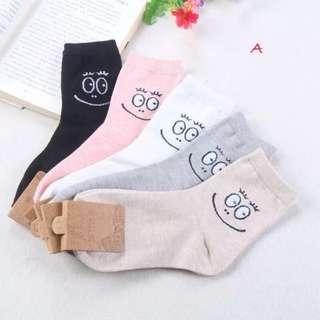 韓國泡泡先生中筒襪 2雙$79