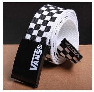 Vans checkered belt,rm25sm rm30ss