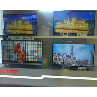 Sharp tv basic and smart tv