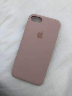iPhone 6/7 ( silicone case) - pink sand