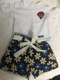 Terno Shorts & Blouse