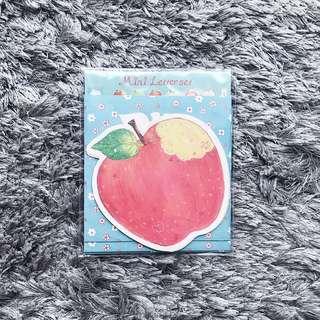🎁Cute Apple Stationary
