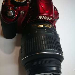 Nikon D3100 with 18-55mm VR