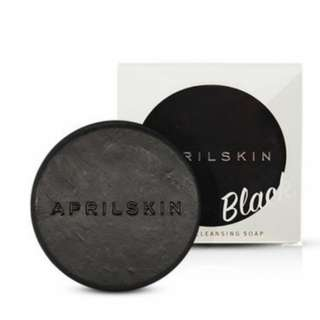April Skin Signature Soap Black