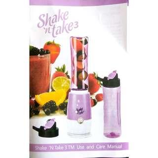 Shake N Take 3 Colorful Juice Blender