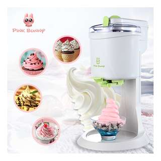 Pink Bunny Portable DIY Soft Ice Cream Maker BL-1000
