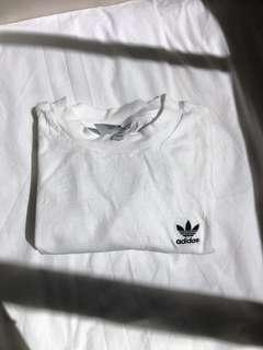 Turtle Neck Adidas Oversized T-shirt