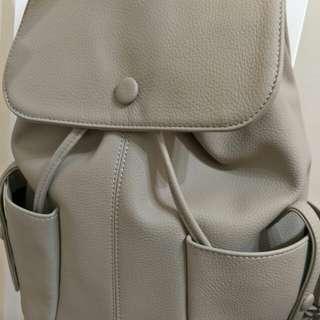 皮革後背包