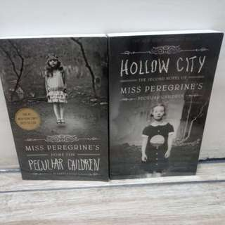 Miss Peregrine's Home For Peculiar Children by Ransom Riggs (1&2)