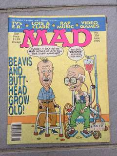 MAD Magazine no.336 June 1995