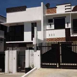 corner Duplex house and Lot in North Olympus Subd. Quezon City near Gate