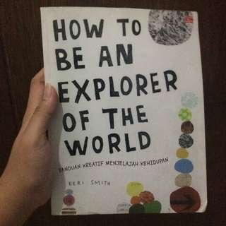 Discount Buku Keri Smith How To Be An Explorer of the world