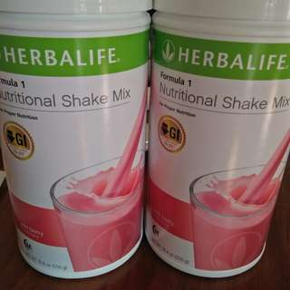 Herbalife Nutritional Shakes Formula 1 Powder Wild berry flavor