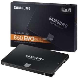 Samsung 860 EVO 500GB SSD (Brand New)