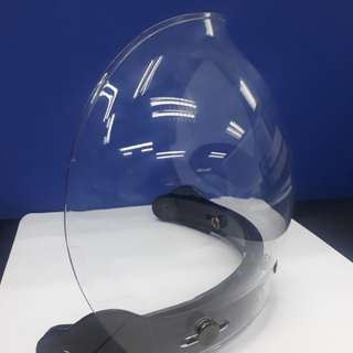 Windshield helmet