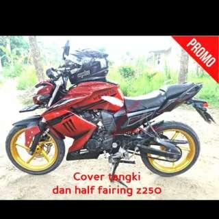 Fz16 half fairing + tank cover