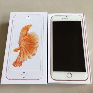 iPhone6s 64g 玫瑰金