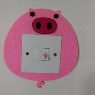 电燈制牆貼(2)