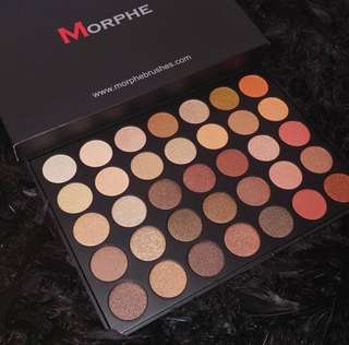 [💯AUTHENTIC MORPHE PO] MORPHE 35OS NATURE GLOW SHIMMER EYESHADOW PALETTE