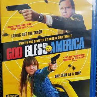 God bless America Blu Ray disc