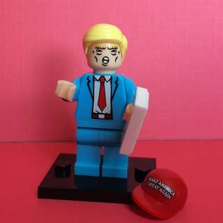 Funny Donald Trump Mini Figure Toy