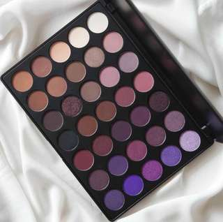 [💯AUTHENTIC MORPHE PO] MORPHE 35P COLOR PLUM EYESHADOW PALETTE