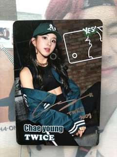 Chaeyoung Yes Card