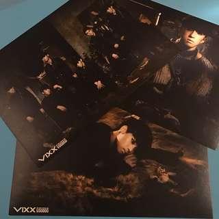 Vixx voodoo doll postcard