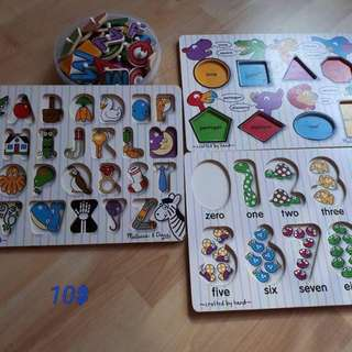 Wooden Puzzles, toys