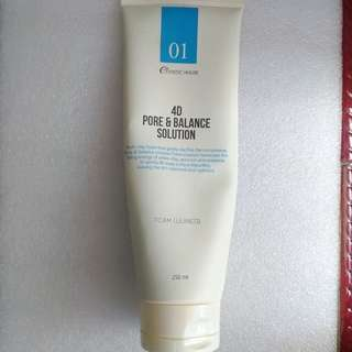 Esthetic House 4D Pore & Balance Solution Foam Cleanser