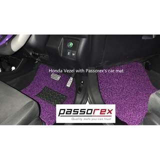 Carmats/Floormat/Drivermat Customisation - Honda Vezel car mat