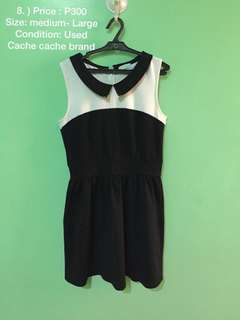 Cache cache dress used