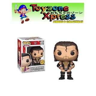 WWE Razor Ramon Pop! Vinyl Figure (#47) CHASE