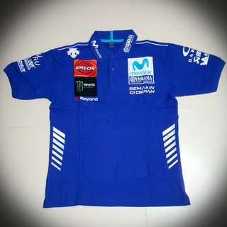 2018 Yamaha Movistar Pit Crew Polo