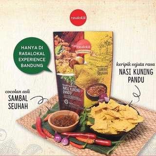 Rasa Lokal Snack Bandung, Bali, Surabaya