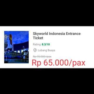 Tiket Masuk Skyworld
