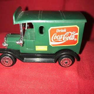 Coca Cola Days Gone By Vintage cars Green