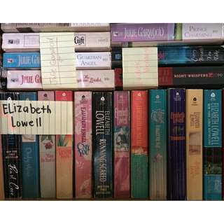 Elizabeth Lowell Books (18 currently in possession)