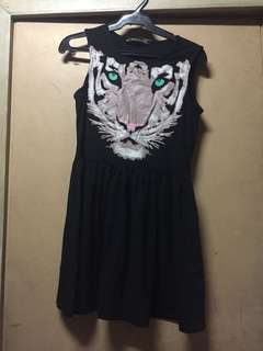 Black Tiger Dress