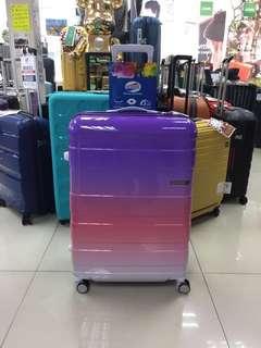 阿豪 美國品牌 American Tourister 漸變色 可放大 HS MV + Deluxe 行李箱