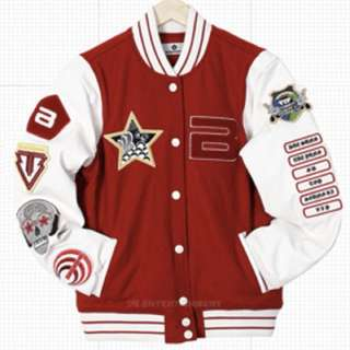 Big Bang 正品絕版2012年購自ygeshop99%新 紅色 棒球外套 棒球褸 GD G dragon