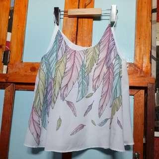 Hanging blouse