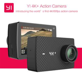 YI 4K+ Action Camera (Black) (4K Video up 60 fps) with Waterproof Case *Brand NEW*