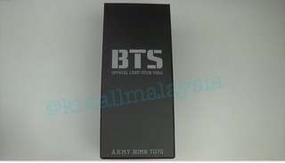 [Readystock] BTS OFFICIAL LIGHT STICK VER.2