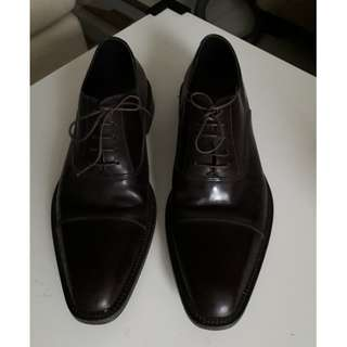 HUGO BOSS Oxford Leather men's shoes. SIZE: 8